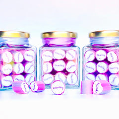 Personalised rock candy jars Sydney