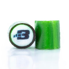 Company logo made in the centre of the candy Australia