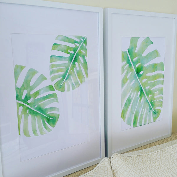 Package Deal Monstera Leaves I & II