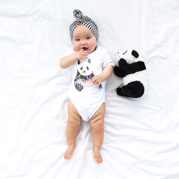 100% Cotton Panda Onesie