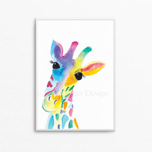 Lulu the Giraffe A3