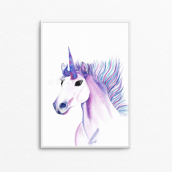Magical Unicorn A4 or A3