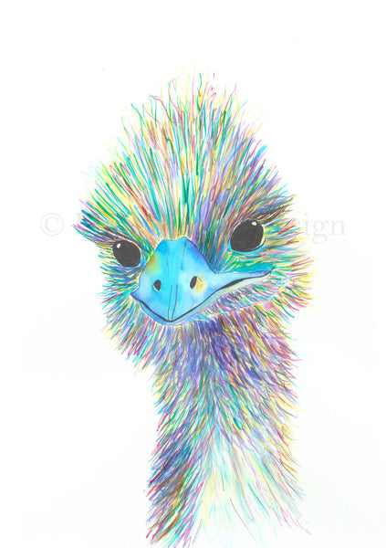 Eddie the Emu A3