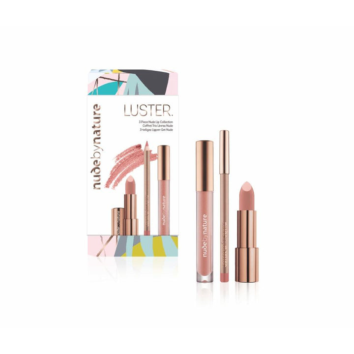 Luster 3 Piece Nude Lip Collection