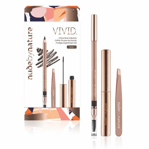 Vivid 3 Piece Brow Collection Gift Set