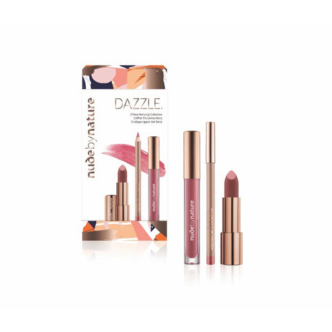 Dazzle 3 Piece Berry Lip Collection