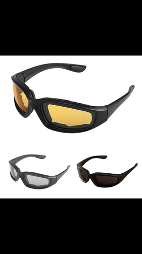 Protective Polarized Motorcycle Sunglasses 3 Pack