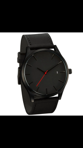 2018 Black Quartz Watch