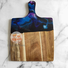 Square Resin art chopping board