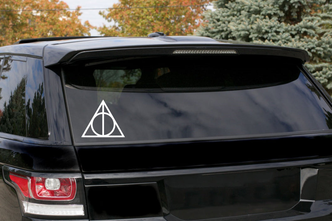 Harry Potter Deathly Hallows Car Decal