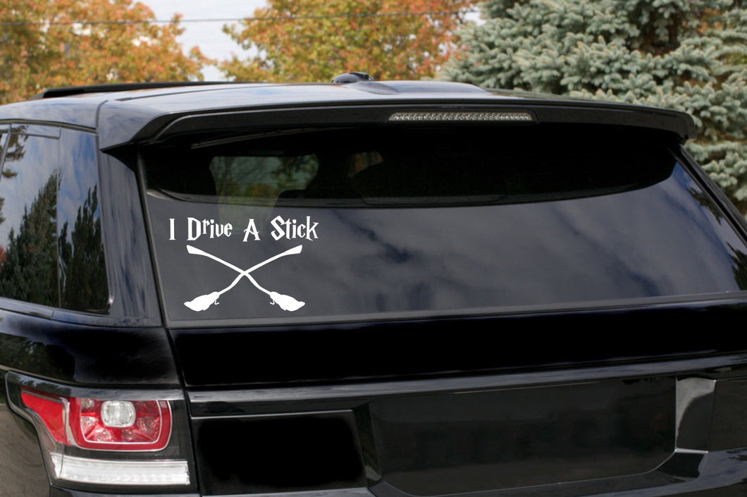 Harry Potter Broom stick Car Decal