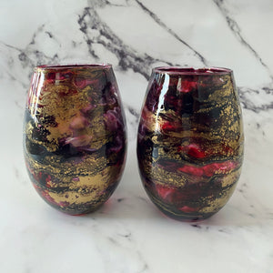 Wildfire stemless  glass