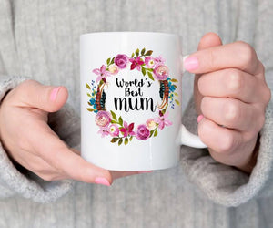 Worlds best mum mug