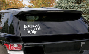 Harry Potter Dumbledore's Army Car Decal
