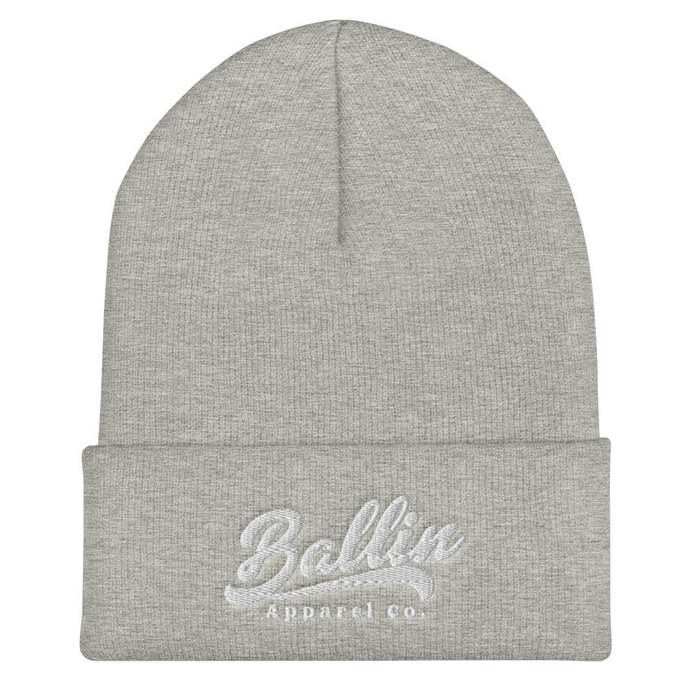 Ballin Apparel Flow Heather Grey Cuffed Beanie