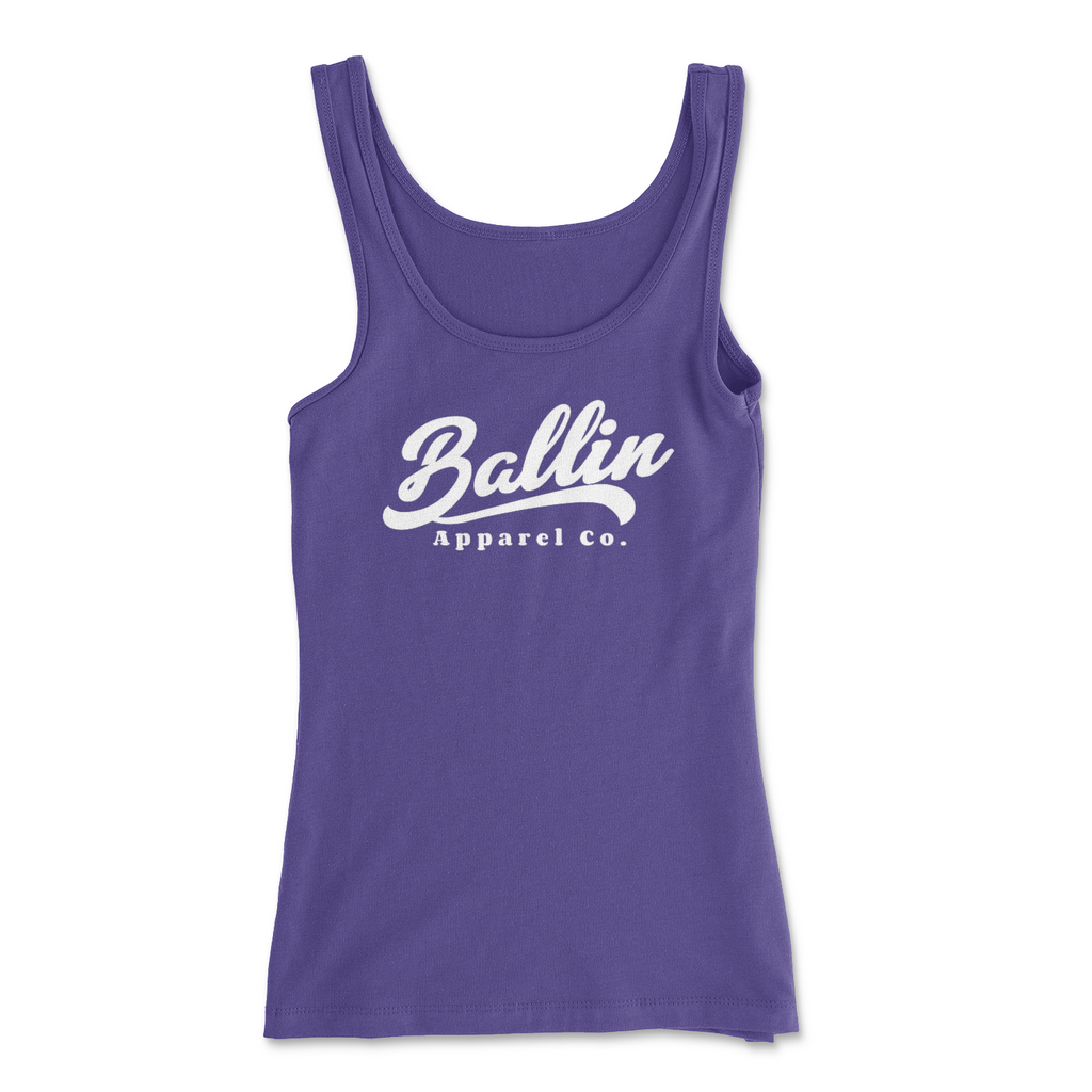 Ballin Apparel Flow Purple Rush Women's Spandex Jersey Tank