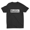 "Ballin Apparel ""Understated"" Mens Cotton Crew T-Shirt"