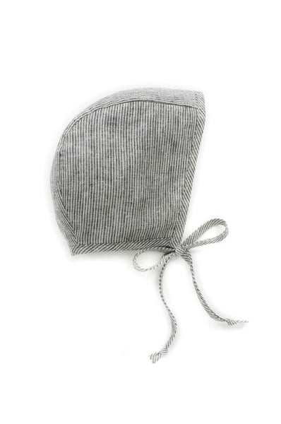 Briar Handmade BONNET NATURAL STRIPE