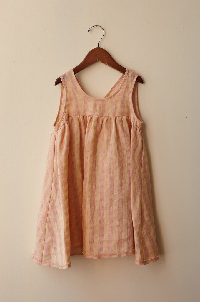 frankie dress peach