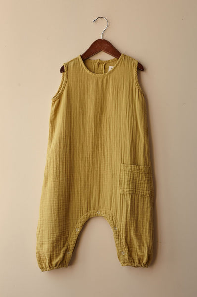 boy+girl baby jumper mustard