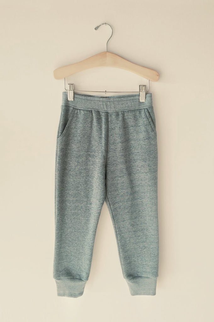 boy+girl lounge pant heather blue