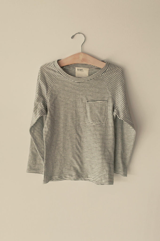 boy+girl l/s raglan tee mini stripe