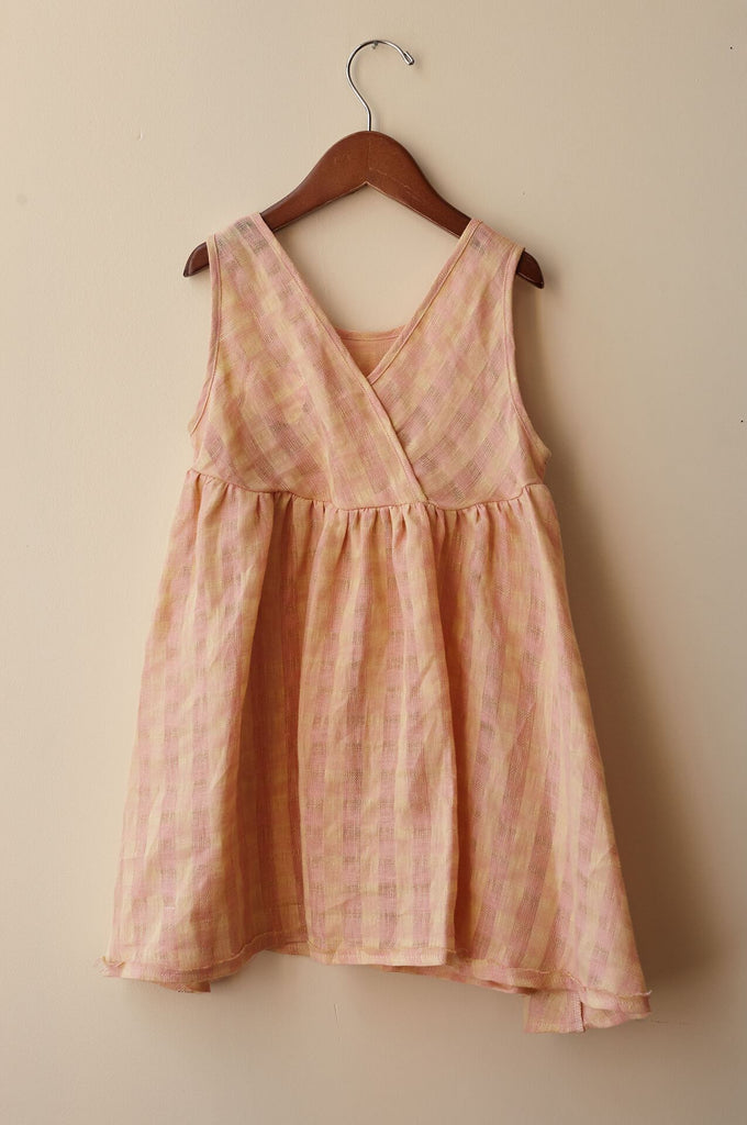boy+girl frankie dress peach