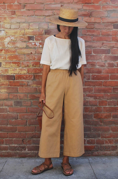 SAILOR PANTS - DESERT CANVAS