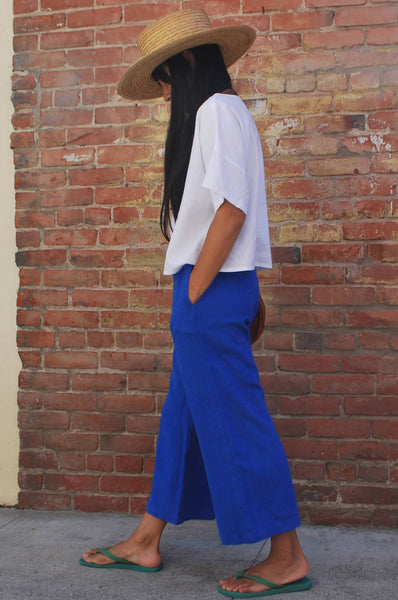 SAILOR PANTS - COBALT
