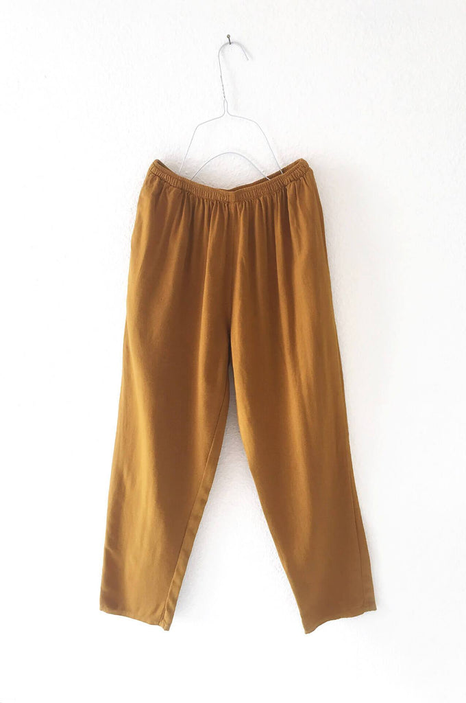 ANKLE PANTS - GOLD