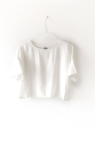 DROP SHOULDER TEE WHITE