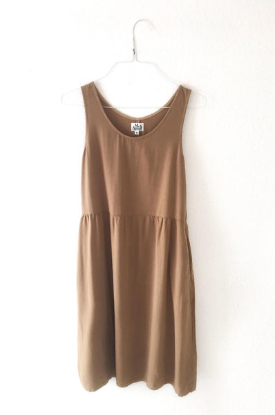 DRESS - HAZELNUT