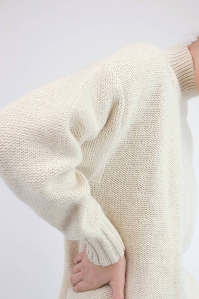 Micaela Greg RAY PULLOVER CREAM