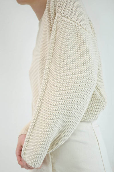 Micaela Greg SEED SWEATER CREAM