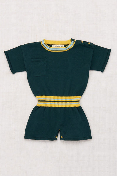 Misha & Puff FIELD DAY PLAYSUIT SPRUCE