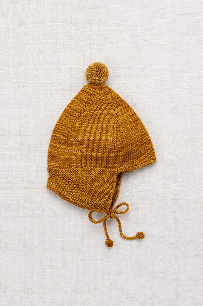 Misha & Puff POINTY PEAK HAT SPUN GOLD