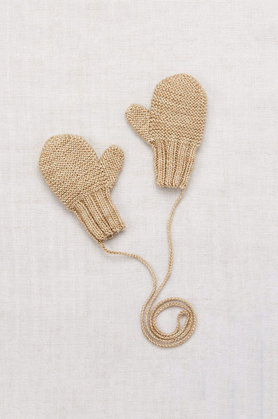 Misha & Puff SAFE HARBOR MITTENS ALABASTER