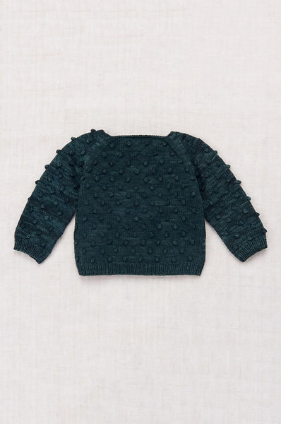 Misha & Puff SUMMER POPCORN SWEATER SPRUCE