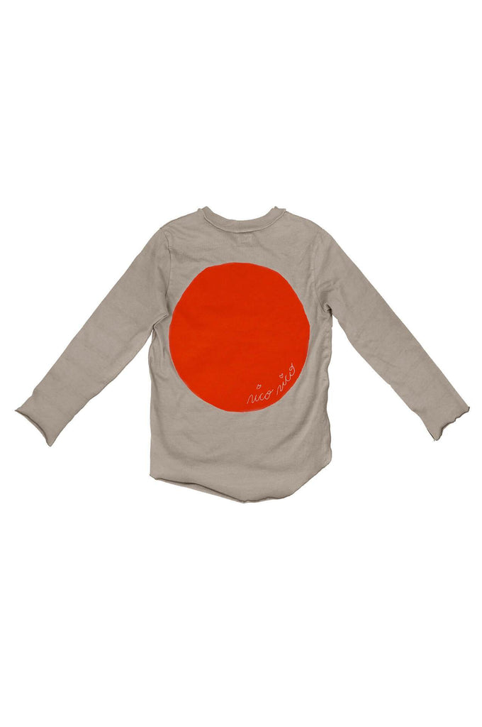 Nico Nico HAPPY LONG SLEEVE GRANITE