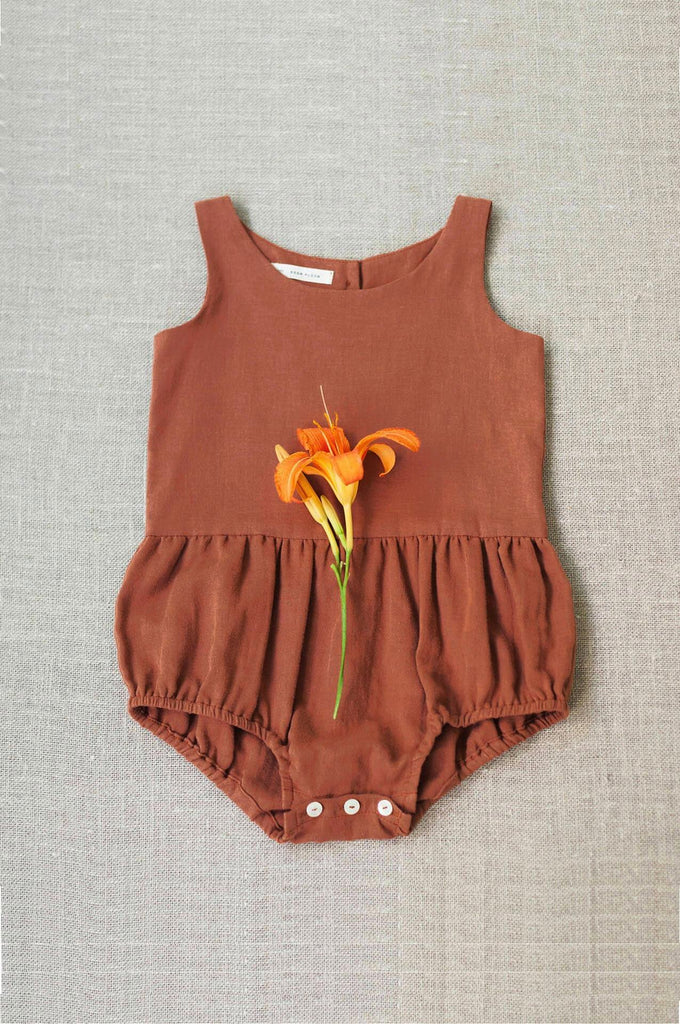 Soor Ploom LOIS PLAYSUIT Terracotta