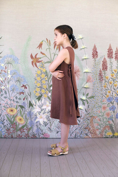 Soor Ploom WILLOW DRESS Terracotta