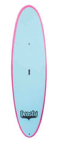"8'6"" Pink Lil Beasty SUP Board Package"