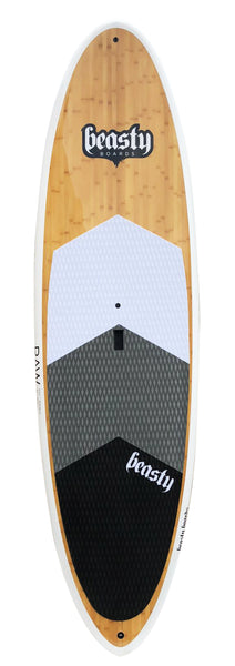 11'2 'Raw' White Cruiser Double Bamboo SUP Package