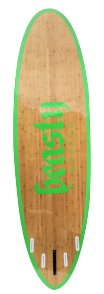 'Raw' Green Double Bamboo SUP Package