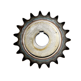 Sprocket - 19 Tooth x 40mm (To suit 40mm standard shaft)