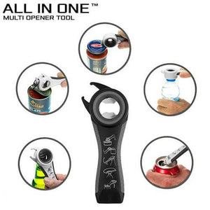 All In One Durable Stainless Steel Bottle Can Opener