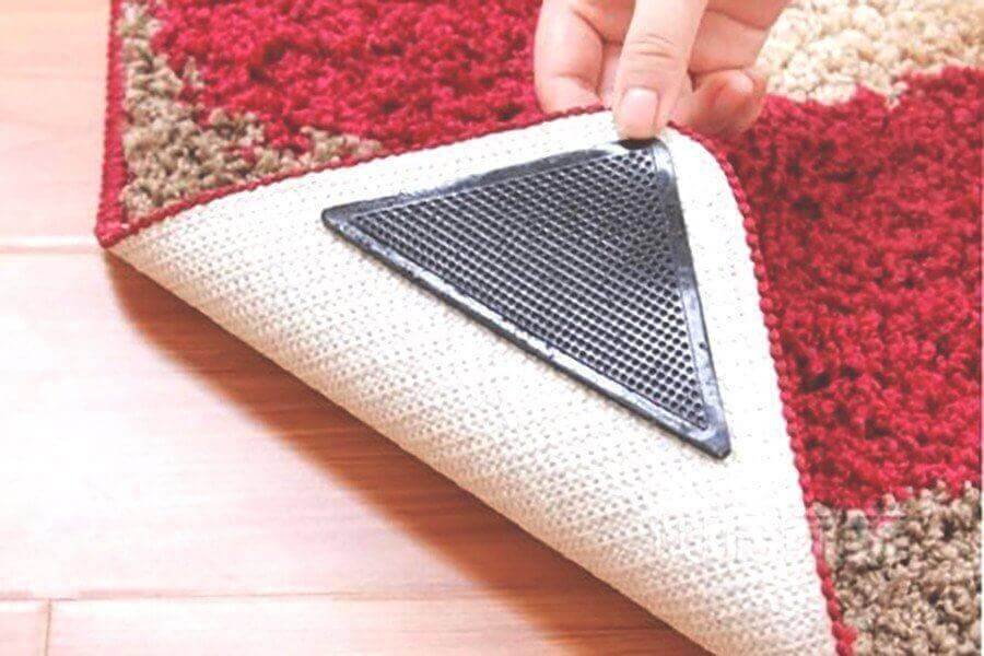 Reusable Rug Grippers (4 Pieces/Set)