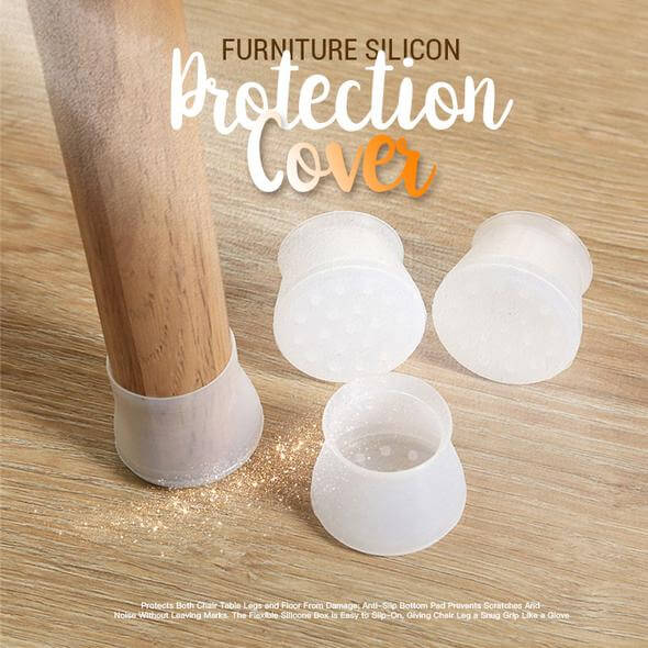 Silicone Furniture Protection Cover - BUY 4 (16 PCS) - 25% OFF
