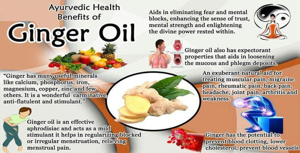 Traditional Ginger Essential Oil