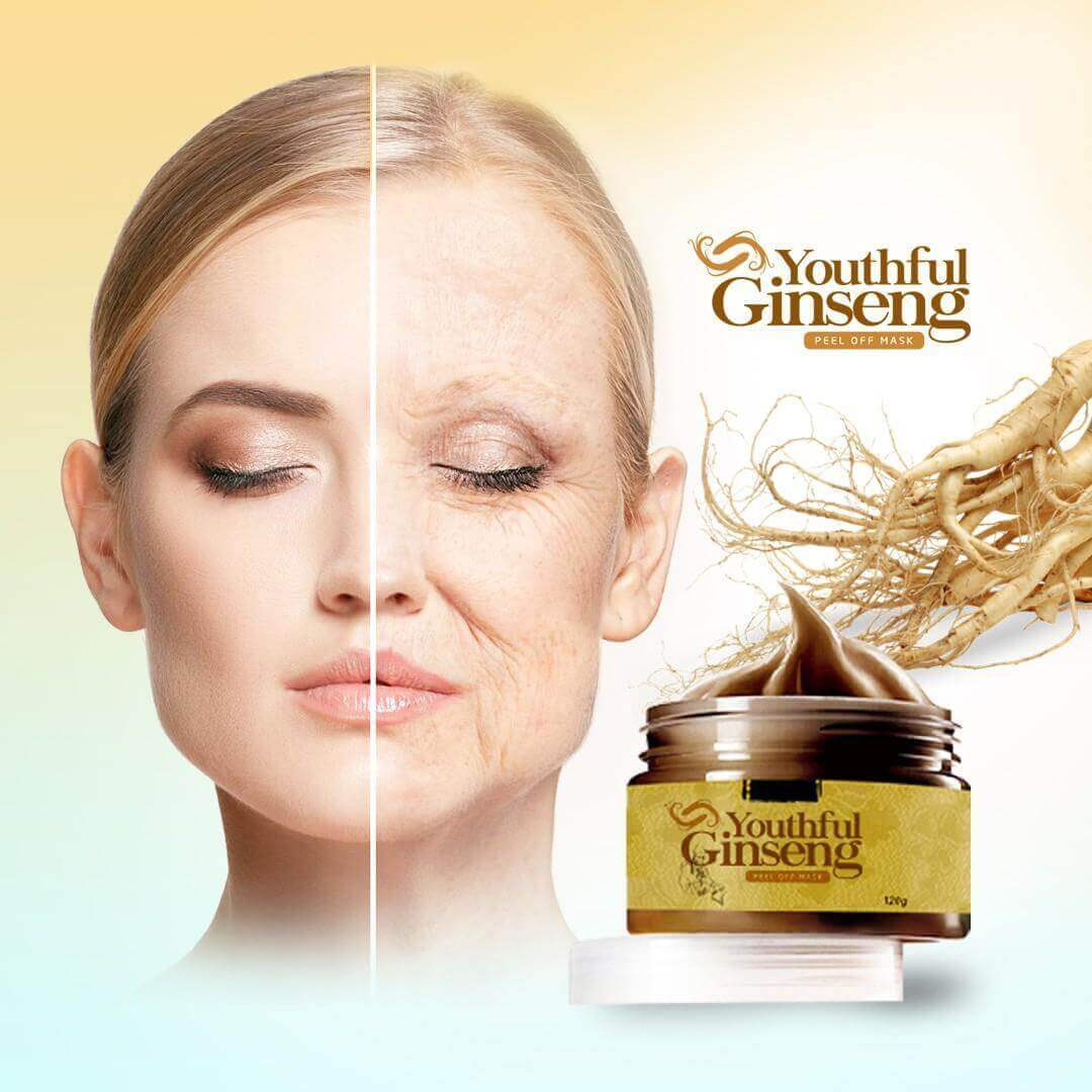 Youthful Ginseng (Look 10 Years Younger)